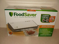 Food Saver Manual Operation Vacuum Sealing System Fm2110 With Starter Kit