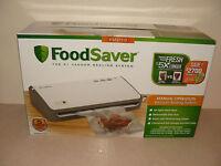 Food Saver Manual Operation Vacuum Sealing System Fm2110 With Starter Kit