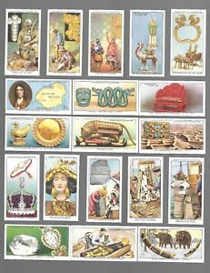 CIGARETTE-CARDS-Churchman-Tobacco-TREASURE-TROVE-Complete-Set-of-50-1937