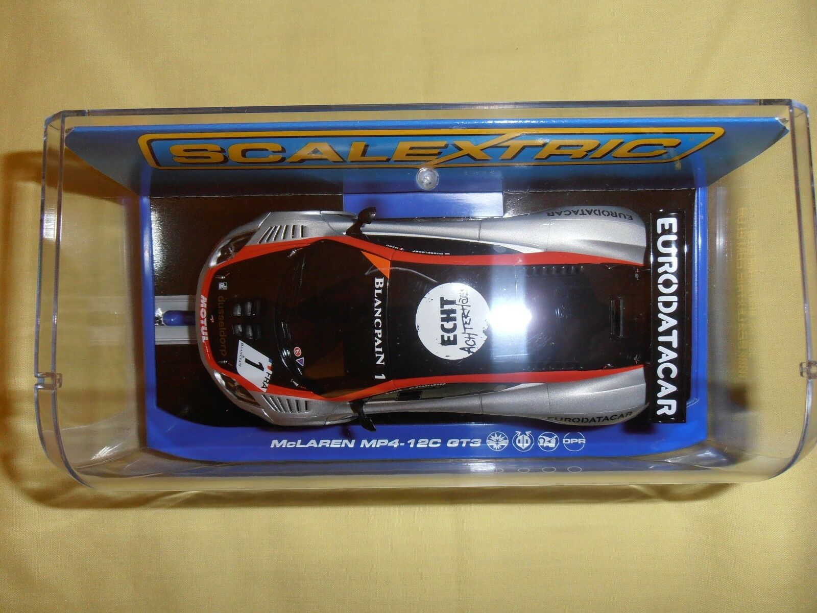 SCALEXTRIC C3382 McLaren MP4-12C GT3 GT3 GT3 no.1 équipe HEXIS Nouveau Ninco SCX Pioneer 87efd4