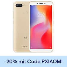 "Xiaomi Redmi 6 Global Version 5.4"" Smartphone Octa Core 64GB Handy Ohne Simlock"