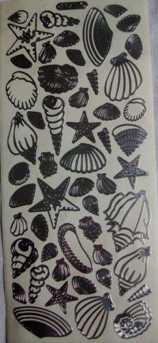 Am Meer Meeresbewohner Maritim Stickerbogen