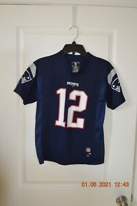 Details about Tom Brady New England Patriots Youth Jersey Medium (10/12)