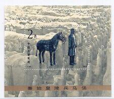 1983 PRC China T88 1863 MI 1883 Block 30 SS MNH Terra Cotta Figures Qin Dynasty*