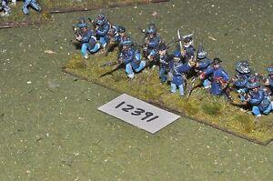 25mm Unione ACW/- Guerra Civile Americana Fanteria 13 cifre-INF (12391)