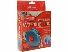 12M SPACE SAVING RETRACTABLE WASHING LINE CLOTHES LINE WALL MOUNTED  CL12M