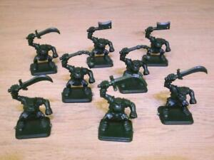 ORCS-x-8-Full-Set-HEROQUEST-MB-Games-Workshop-D-amp-D-Warhammer-Quest
