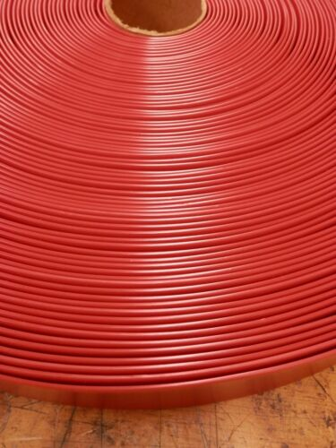 "2/"" Vinyl Chair Strapping Outdoor Patio Lawn Furniture Repair 40/' Red New # 225"