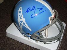 Billy Cannon autographed Houston Oilers mini helmet