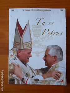 DVD-TU-ES-PETRUS-BENEDICTO-XVI-LAS-LLAVES-DEL-REINO-LEER-DESCRIPCION-M5