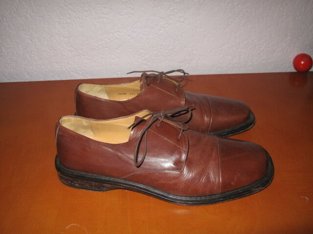 MEZLAN Men's leather ladge up shows Marronee Dimensione 11.5 M   l'ultimo