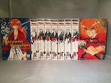 Rurouni Kenshin ( VizBig Vol. 1- 9 ) English Manga Graphic Novels New Complete