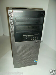 Details about Dell Optiplex 960 Intel C2Q Q9650 3GHz 4GB 500GB DVDRW ATI  Radeon 512MB DVI HDTV