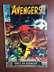 The-Avengers-23-1965-5-0-VG-Marvel-Key-Issue-Comic-Silver-Age-Kang-App