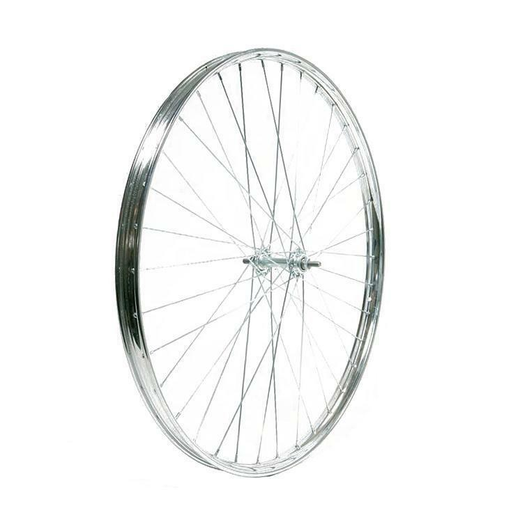 RIDEWILL BIKE ruota anteriore r 28x1-5/8 acciaio cromato R28RA158 Bicicletta Bik