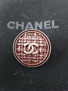 100-Chanel-button-1-pieces-metal-cc-logo-1-inch-26-mm