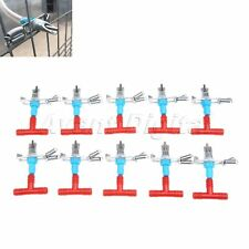 10rabbit Water Feeders Nipples Automatic For Rodents Bunny Rabbit Metalampplastic
