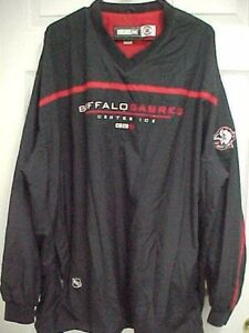 Image is loading BUFFALO-SABRES-NHL-Center-Ice-Stitched-Pullover-Rain- 655a915b9