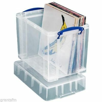 Really Useful Plastic Storage Box 19 XL Litre Clear