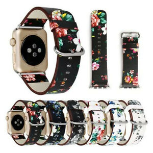 British-rural-style-Flower-Genuine-Leather-Strap-Band-for-Apple-Watch-series-4-3