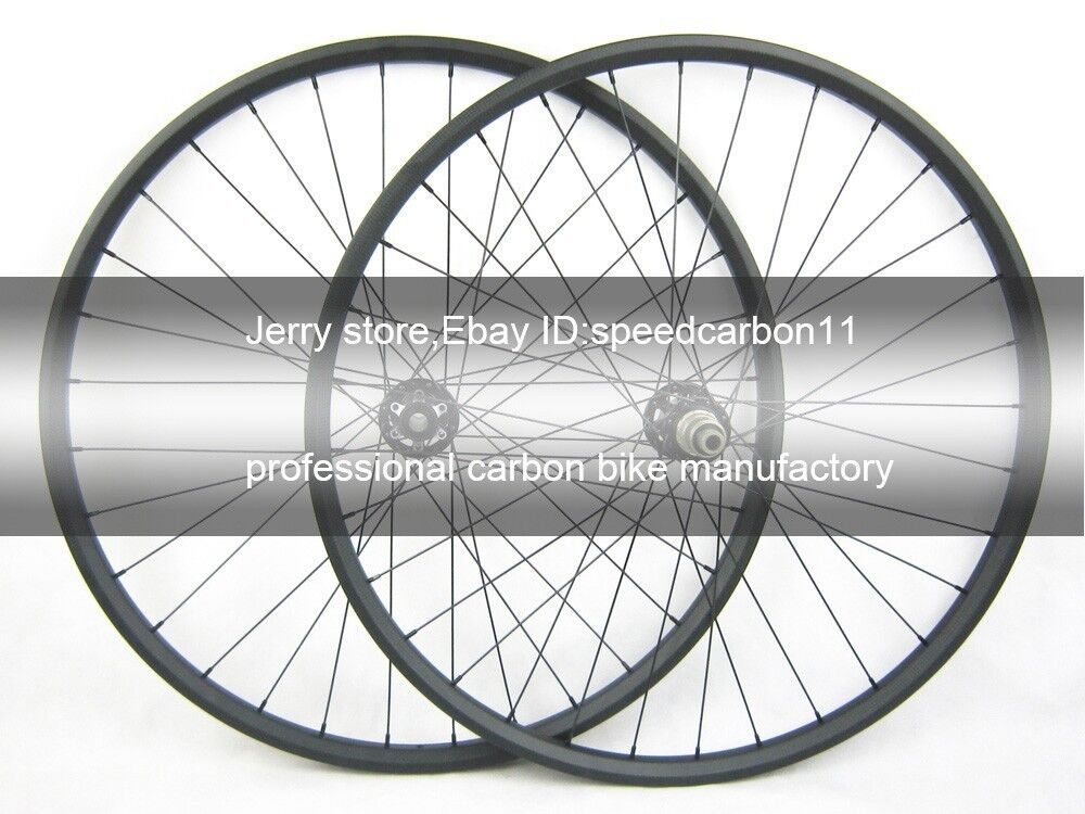 27.5er hookless carbon mtb wheel,bicycle wheel Axle 15mm 12mm142mm 30mm width