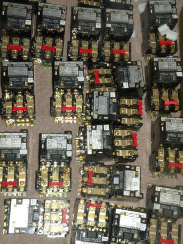 Square D 8536-SB02 Form S Ser A Starter 600VAC Coil 31041-400-42 120V 50//60Hz
