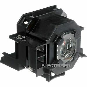 ELPLP42 V13H010L42 FACTORY ORIGINAL BULB IN GENERIC HOUSING FOR EPSON EMP400W