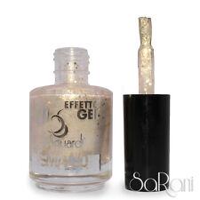 Smalto Unghie Effetto Gel 137 Glitter Lucido Oro Dolci Sguardi Nail Art SARANI
