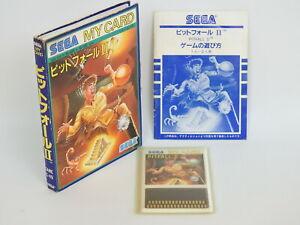 PIT FALL II 2 Ref/1540 Sega My Card SC-3000 SG-1000 Japan sc