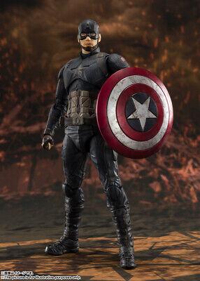 Figuarts CAPITAN AMERICA Giappone Versione BANDAI S.H Avengers//Fine del gioco