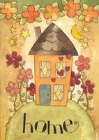 Home Spring Garden Flag