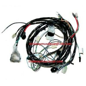 front end forward lamp light wiring harness 76 chevy ... 1976 corvette wire harness 1976 dodge truck wire harness #10