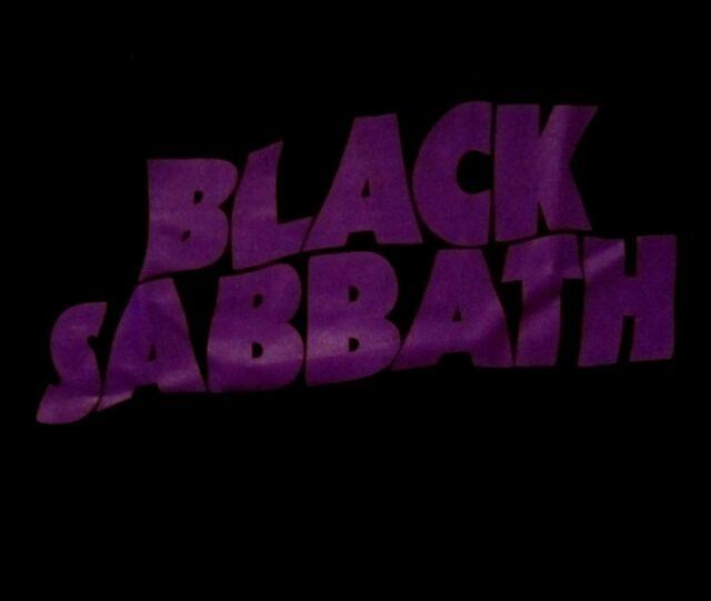 BLACK SABBATH cd cvr MASTER OF REALITY LOGO Official SHIRT LRG new