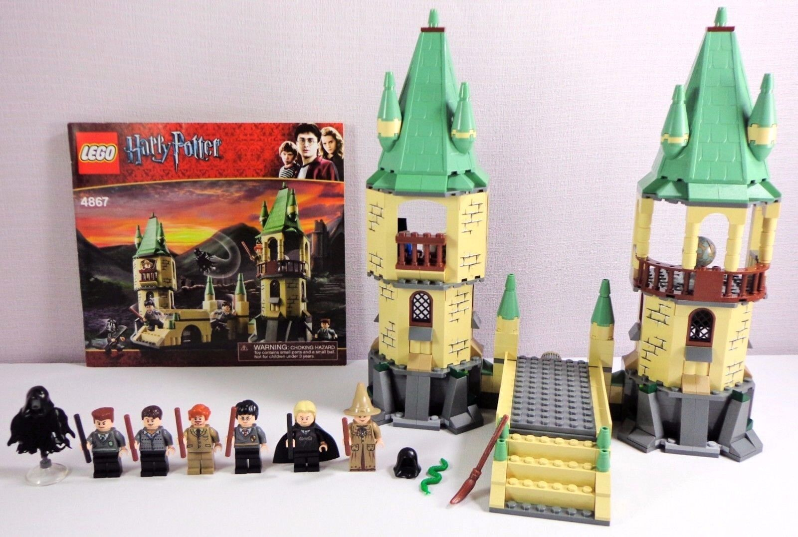Lego Harry Potter Set Hogwarts 4867 Complete with 7 Minifigures No Box