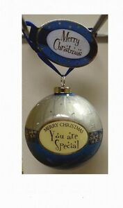 Lot-of-12-Pieces-Merry-Christmas-You-Are-Special-Bauble-Ornaments