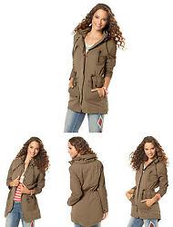 Flashlight Parka Parker Übergangsjacke Mantel Jacke Damen Jacken Frühlings Mode
