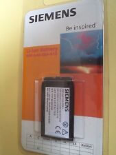 BATTERIA SIEMENS-C62- ORIGINALE  IN BLISTER EBA 610