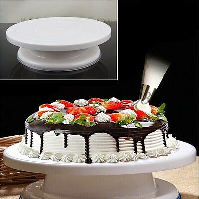 Cake Decorating Turnplate Stands Pastry Cream Baking Tools Kitchen Supplies Kit