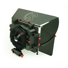 Kamerar MAX-1 Video Matte Box with adjustable height 15mm Rod Rig Clamp + Donut