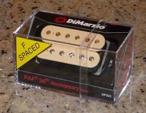 Dimarzio-DP223F-CREAM-PAF-36th-Bridge-Pickup-fit-Gibson-Les-Paul-SG-335-Explorer