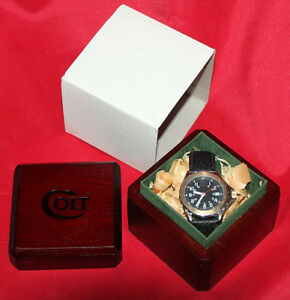 COLT-Firearms-Factory-CW3-Outback-Swiss-Watch-Mint-in-Box