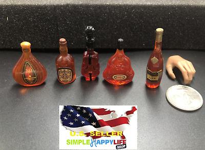 "12 x 1//12 Coke Bottle For 12/"" Hot Toys Kumik Phicen Male Female Figure U.S.A."