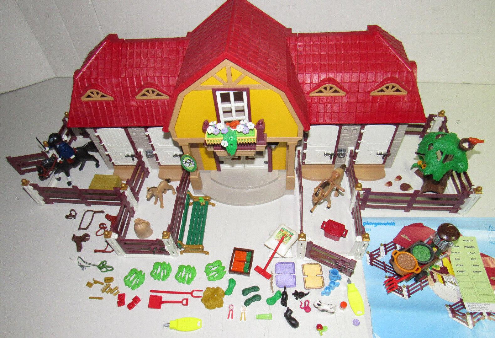 Playmobil© 5221 Großer Reiterhof mit Paddock KOMPLETT TOP-Zustand