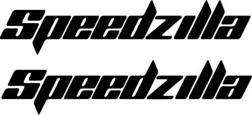 """2 PIECES Sea doo rxp x rxt gti wake /""""speedzilla/"""" Decal//Sticker"""
