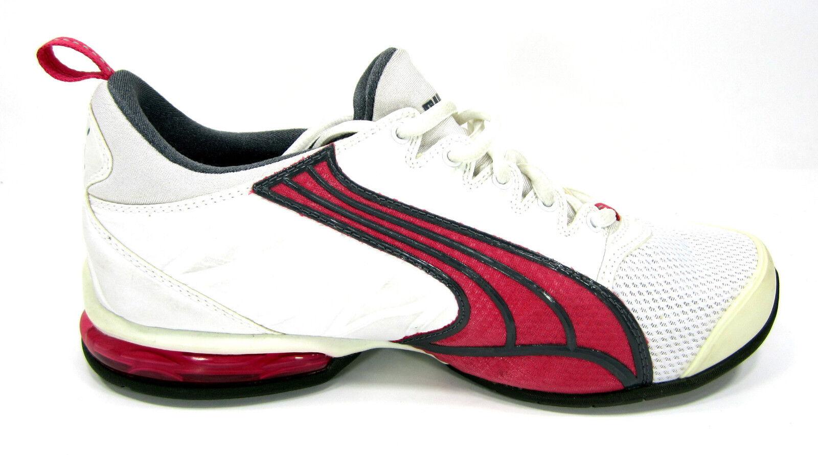 Puma chaussures Athletic Sports Running Running Running blanc Cream  rouge baskets femmes 7 6b20bf