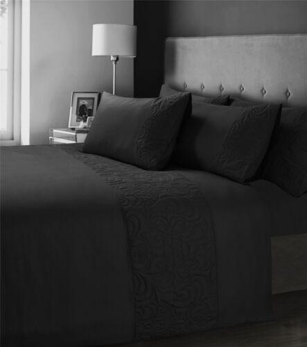 Designer Quilt Cover Set Bedding Olivia Rocco Venezia Damask Quilted Duvet Set