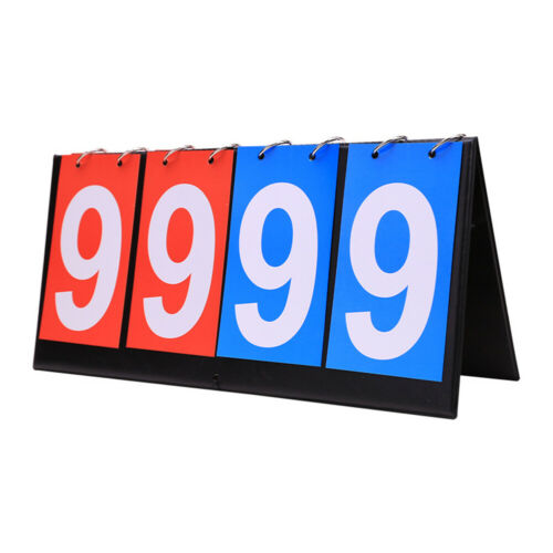 Basketball Portable Team Sport 4 Digit Ring Scoreboard Foldable Competitions