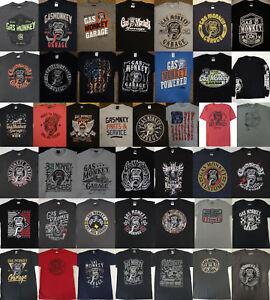 9b048c0b26d Fast N Loud Discovery Tv Show Gas Monkey Garage Licensed T-Shirt