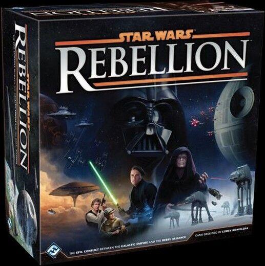 Star Wars  Rebellion - Fantasy Flight Gioco da Tavolo, Nuovo, Italiano