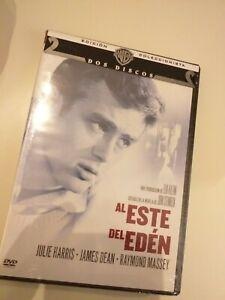 Dvd-AL-ESTE-DEL-EDEN-EDICION-COLECCIONISTAS-PRECINTADO-nuevo-JAMES-DEAN